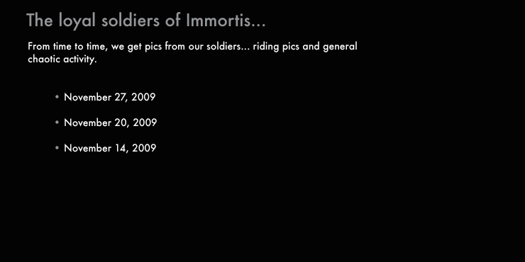 Immortis Army